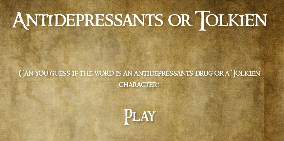 antidepressantsortolkien.now.sh
